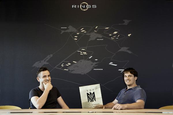 Andreas en Steffen Rings