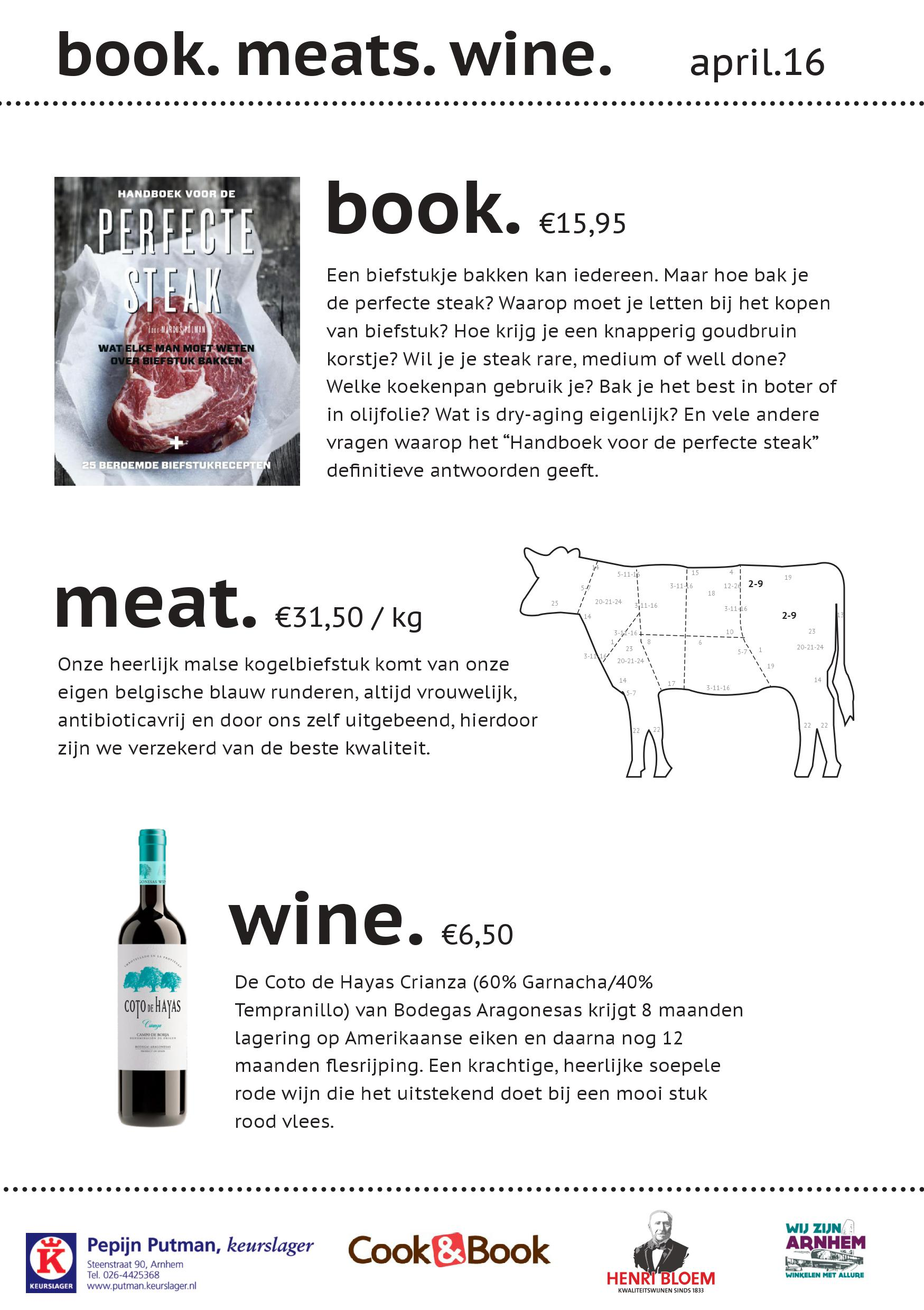 Book Meats Wine April 2016