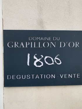 Grapillon d'Or