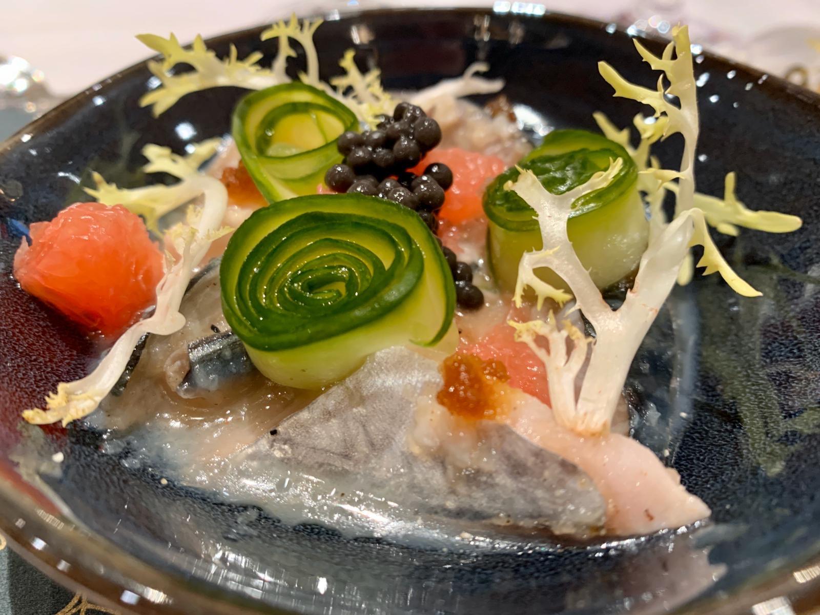 Ceviche van makreel