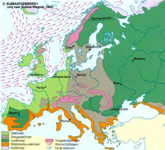 Klimaat Europa