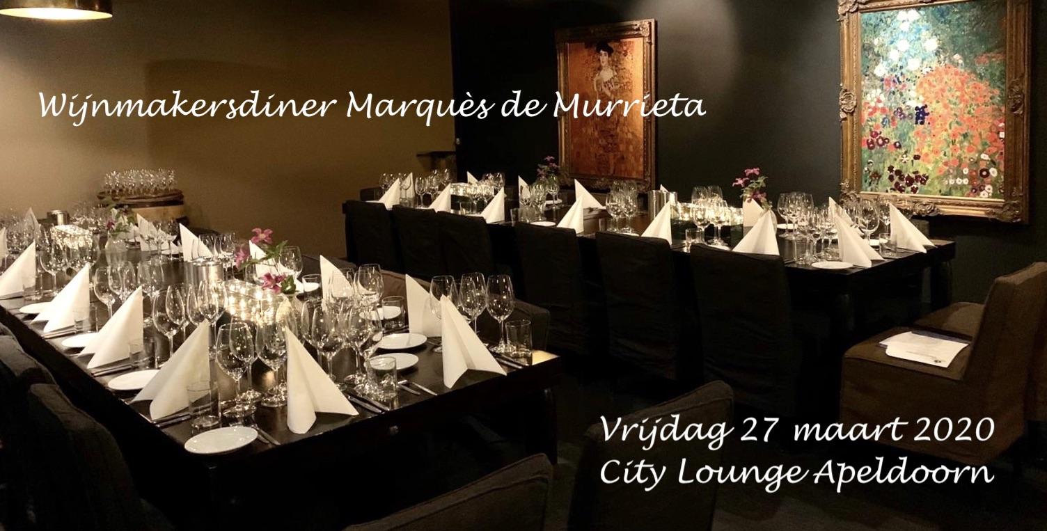 Wijnmakersdiner Murrieta