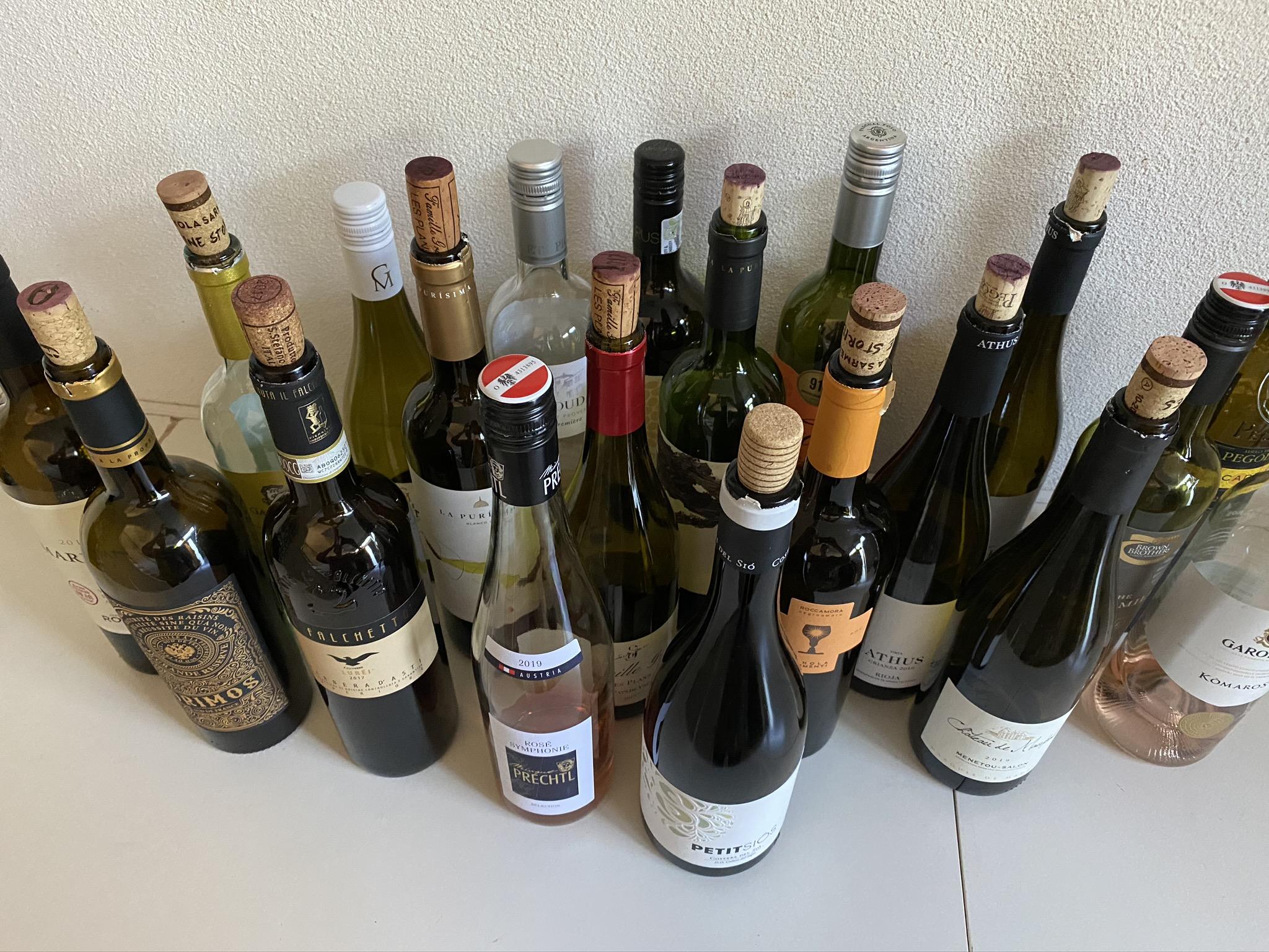 wijnen online voorjaarsproeverij
