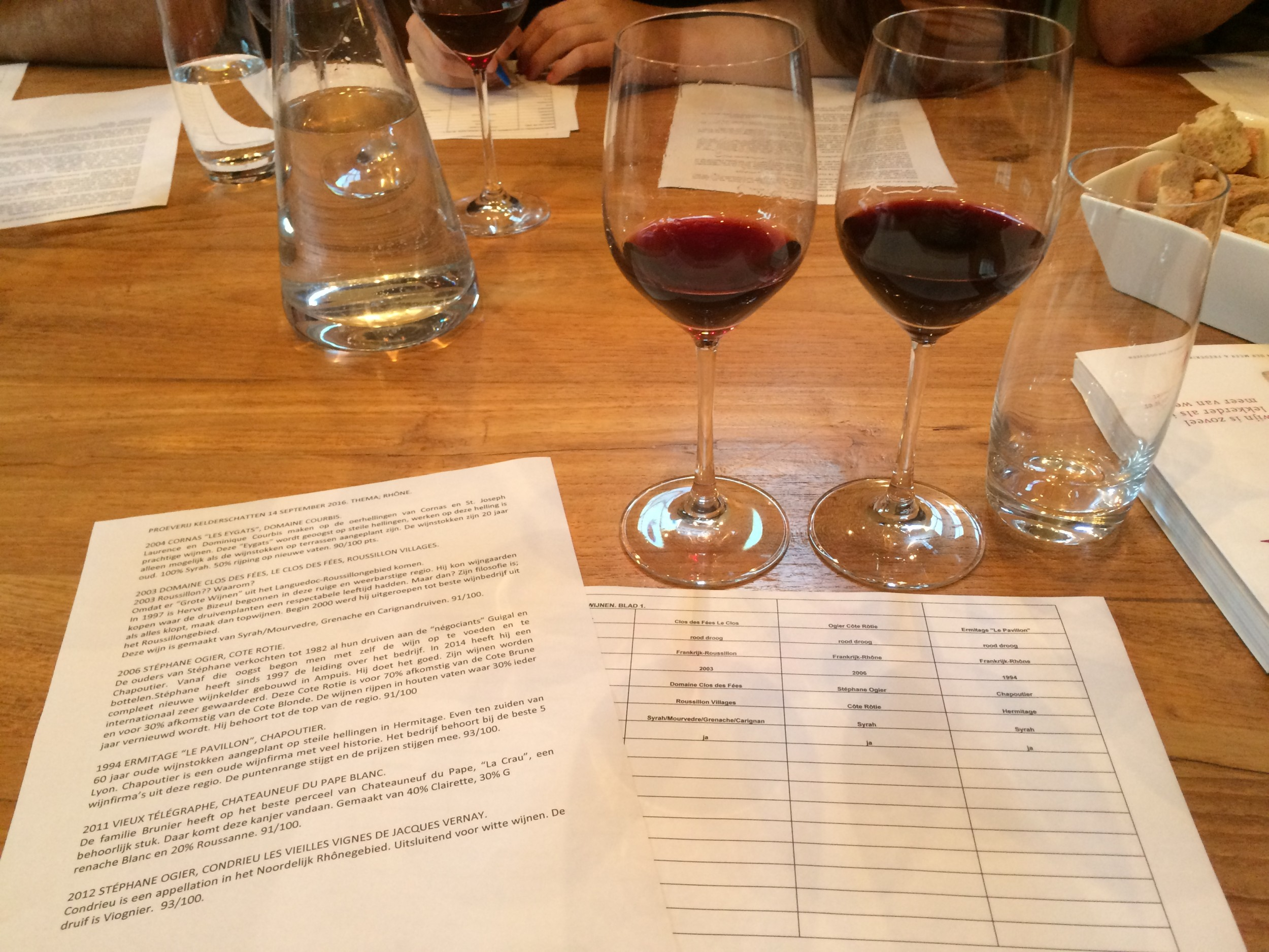 wijncursus glazen september 2018